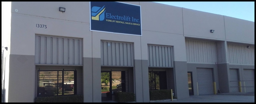 The front of the Electrolift Inc offices